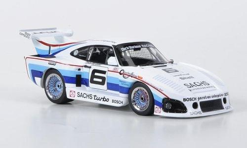 Unbekannt Porsche 935 K3, N.º 6, Barbour Pista, IMSA, 1980, Modelo de Coche, Modelo prefabricado, Ebbro 1:43 Modelo Exclusivamente de colección.