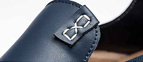 XiaoYouYu Fashion, Basses homme Bleu
