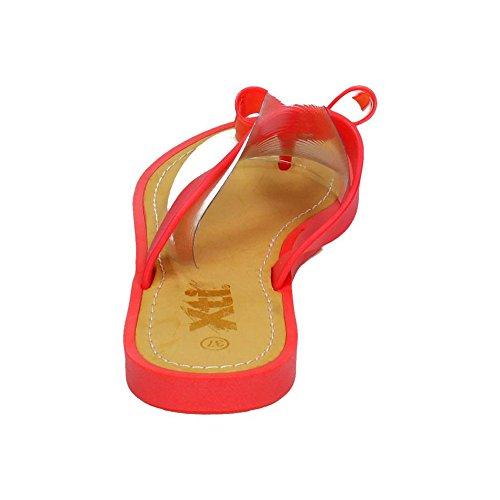 XTI , sandales femme Corail