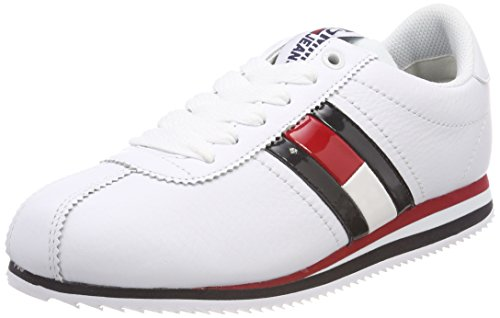 Tommy Jeans Retro Flag Sneaker, Sneakers Basses Femme