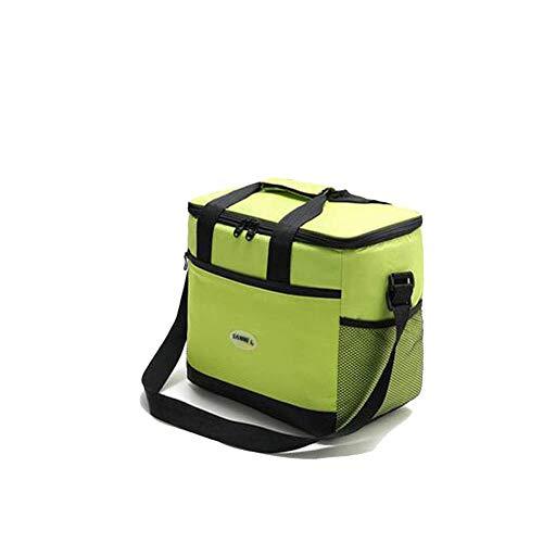 DYTJ-Lunchbox Bento Box Brotdose Einfarbiger, Isolierter Lunch-Beutel, Wasserdichter, Tragbarer Mahlzeitensack Mit Großer Kapazität, Großer Lunch-Beutel Aus Aluminiumfolie. Hohe Kapazität (Farbe: B (Bento-lunch-box Mit Träger)