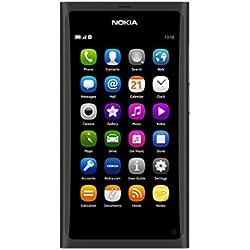 "Nokia N9 - Móvil libre (pantalla táctil de 3,9"" 854 x 480, cámara 8 Mp, 16 GB de capacidad, S.O. MeeGo) color negro [Importado]"
