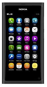 """Nokia N9 Smartphone Écran tactile 9,9 cm (3,9"""") Appareil photo 8 Mpx 16 Go de mémoire Noir (Import Allemagne)"""