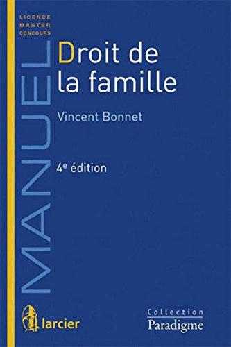 Droit de la famille, 4ème édition