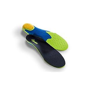 Pedis Shockless Schuheinlagen – klinisch getestete Stoßdämpfende Sport-Einlegesohlen für laufintensive Sportarten (Joggen, Wandern, Fussball) für Herren