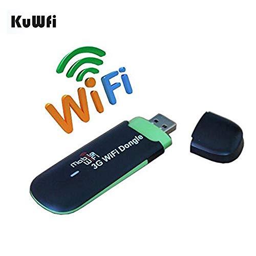 LTE Surfstick, Unlocked 7.2Mbps 3G USB WiFi Modem Wireless Router Auto WiFi Dongle mit SIM Slot Arbeiten Sie mit Telefonica/Telekom/Vodafone SIM Karte