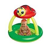 WHQ Aufblasbarer Pool Baby Badewanne Kinder Doppel Neugeborenes Baby Pool Dicke Warme Falten...