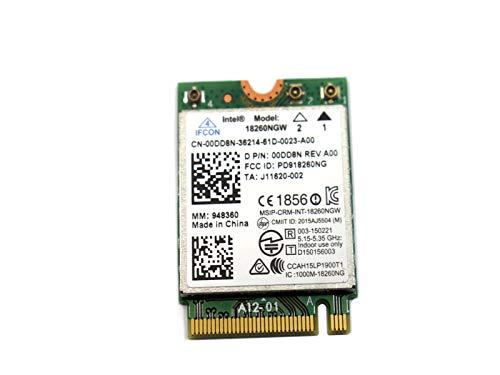 Intel 18260NGW Tri-Band Wireless-AC 18260 WiGig (802.11ad) Wi-Fi (802.11ac/agn) + Bluetooth Combo Module -