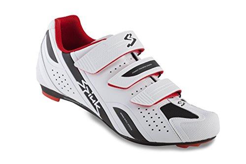 Spiuk Rodda Road Chaussures de sport unisexe blanc/noir