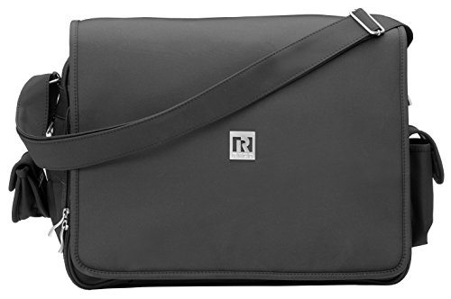 Ryco Deluxe Everyday Messenger Bag, schwarz (Deluxe Bag Messenger)