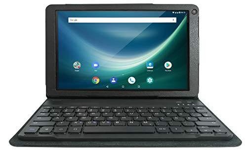 Odys NoteTab Pro 25,7 cm (10,1 Zoll), 1,3 Ghz QuadCore Prozessor, 16GB Flash Speicher, 2 GB RAM, Mali T720 MP2, Android 8.1) 4G LTE, GPS, DUAL SIM, Aluminium-Rückseite, Schwarz
