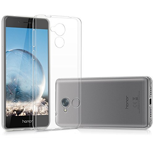 kwmobile Huawei Honor 6C Hülle - Handyhülle für Huawei Honor 6C - Handy Case in Transparent
