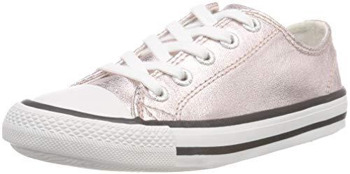Lico Mädchen Gloss Low Sneaker, Gold Rosegold, 35 EU