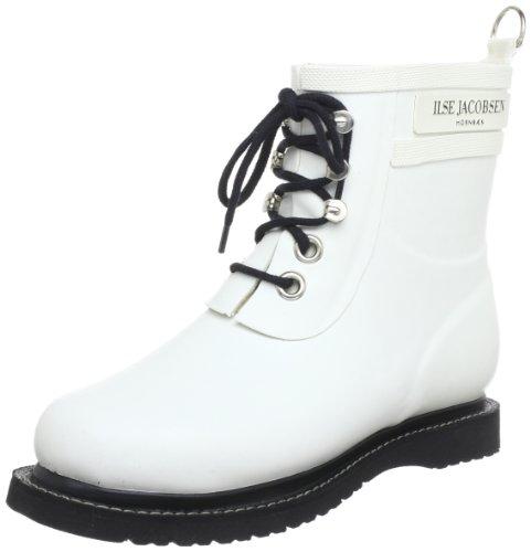 Ilse Jacobsen  Kurze Gummistiefel, bottines classiques femme Blanc - Weiß (Weiss (10) 10)