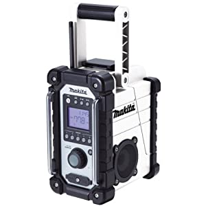 Makita DMR102W Jobsite Radio - White