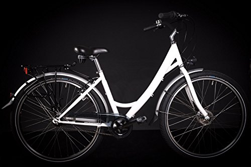 "28\"" Zoll Damen RAD Fahrrad City Fahrrad Rent Bike Shimano Nexus 7 Gang XXL weiss"
