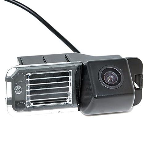 Auto Wayfeng WF® CCD Car Reverse Rear View de sauvegarde de caméra de stationnement arrière Vue Stationnement Pour VW Volkswagen Polo V (6R) / Golf 6 VI / Passat CC