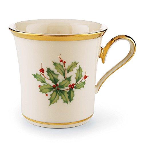 Lenox Holiday Tasse, goldfarben, 12-oz. Lenox Holiday Dessert