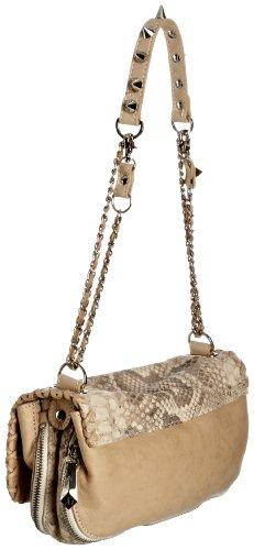 Sam Edelman Chantal Pouchette Handbag Citron 5507MT12CT, Sac à main femme Gris (Python Naturelle)