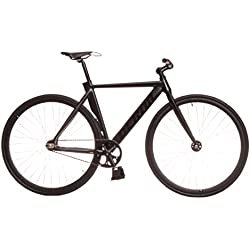 Kamikaze Bicicleta Fixie Aluminio derail rd30 L 55 Negra