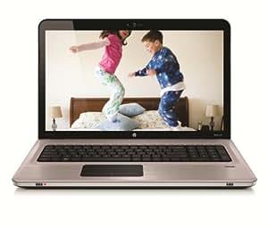 "HP Pavilion dv7-4162sf Ordinateur Portable 17,3"" HD+LED Athlon II P340 500 Go RAM 4 Go Windows 7 Premium Argent / Aluminium brossé"