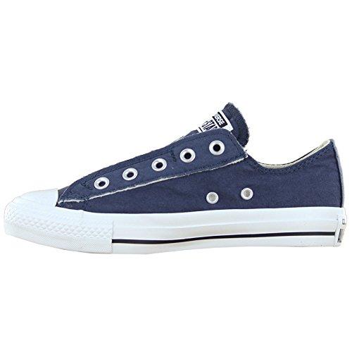 Asics Chuck Taylor Core Lea Ox, chaussures de course Homme blue