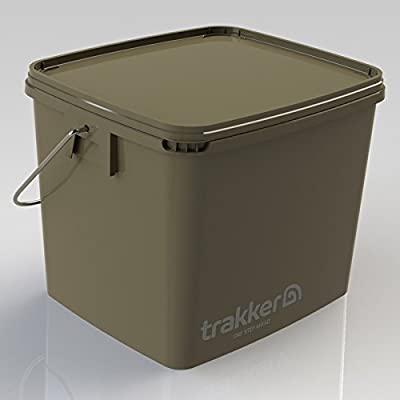 Trakker SQUARE CARP FISHING BAIT BUCKET 13LTR from Trakker