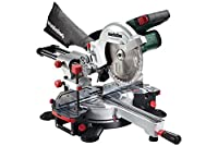 Metabo KGS 18 LTX 216 18 V Cordless Li-Ion Mitre Saw with Sliding Function