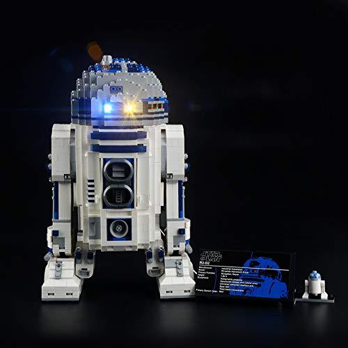 LIGHTAILING Licht-Set Für (Star Wars R2-D2) Modell - LED Licht-Set Kompatibel Mit Lego 10225(Modell Nicht Enthalten) (Wars Lego-r2d2 Star)