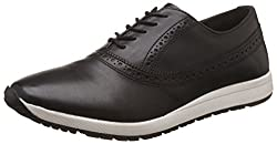 Knotty Derby Mens Everard Brogue Oxford Black Sneakers -11 UK/India (45 EU)