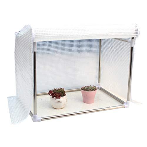 Miniserre serra da giardino balcone piccola serra per piante - giardino portatile di plastica calda serra piante da fiore per patio cortile giardinaggio all'aperto (dimensioni : 150×50×60cm)