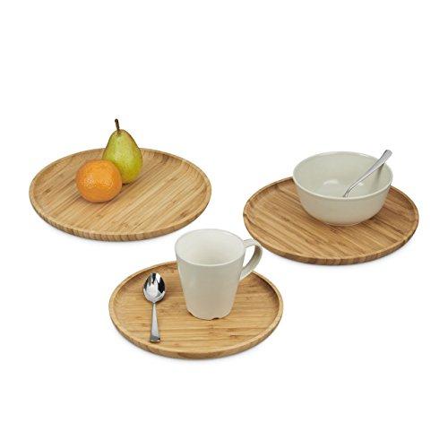 relaxdays-10020253-servir-tabla-redonda-juego-de-3-platos-de-madera-en-24-26-y-28-cm-diametro-bambu-