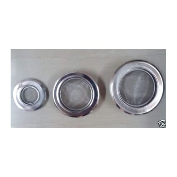 SHOP ONLINE 3 QTY Mix of Sink Drainer Meshes Wash Basin Drain Jali 1inch,2and 3 inch size