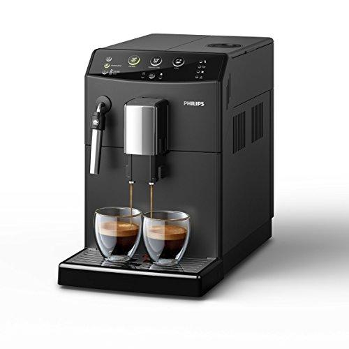 Philips HD8827/01 3000 Serie Kaffeevollautomat, schwarz
