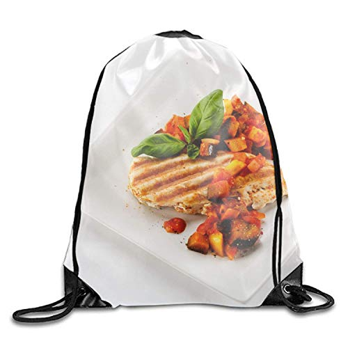 Naiyin Meat Chop Plate Leaves Powder Gym Bag Lightweight Travel Backpack Chop Plate