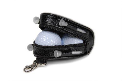 Mini-caddy (CEBEGO® Golf-Bag Caddy,Mini Golfbox zum Anhängen,Golfartikel Golfzubehör mit Golfbälle und Golftees)
