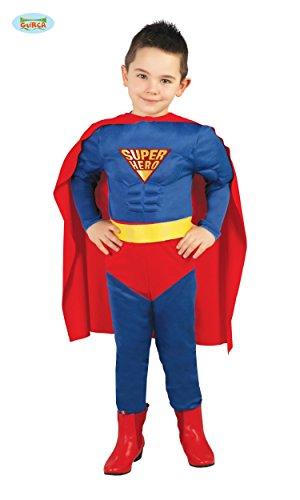 R HERO - Größe 142-148 cm ( 10-12 Jahre ), Comik Comic Verfilmumg Fantasie Muskel Held (Baby-muskel-kostüm)