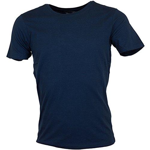 Smith & Jones Purlin Basic T-Shirt Blue