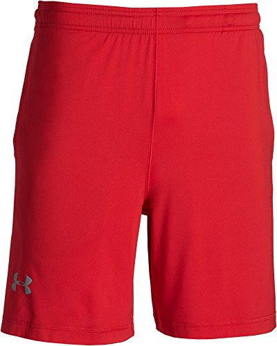 Under Armour, Pantaloni corti Uomo Raid, Rosso (Red), XXL