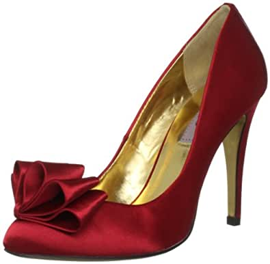 Ted Baker Women's Mayter Dark Red Special Occasion Heels 9-11866 3 UK