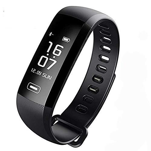 TEZER Unisex Uhr digital Digitales Quarzwerk mit Silikon Armband Fitness Tracker mit Schrittzähler Kalorienzähler D5.MAXBlack ...