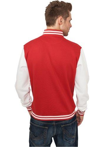 Urban Classics - Blouson Homme rouge-blanc