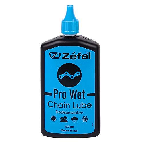 ZEFAL Pro Wet Lube - Lubrifiant chaîne vélo biodégradable - Longues distances et toutes conditions