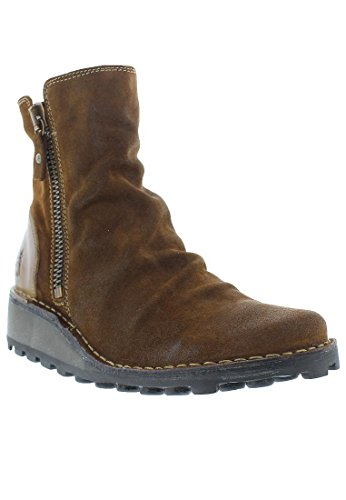 FLY London Damen Mong944fly Stiefel Camel/Beige