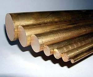 Messing 1/rund 10.16 cm (06.3 mm)