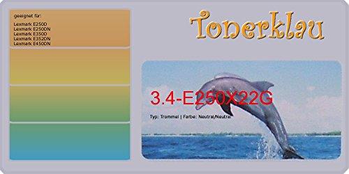 kompatibel Trommel 3.4-E250X22G für: Lexmark E450DN als Ersatz für Lexmark E250X22G - E250x22g Fotoleiter
