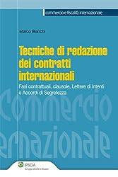 Tecniche di redazione dei contratti internazionali (Commercio e fiscalità internazionale)