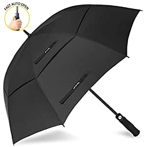 zomake automatic open golf umbrella 68 inch oversize extra. Black Bedroom Furniture Sets. Home Design Ideas