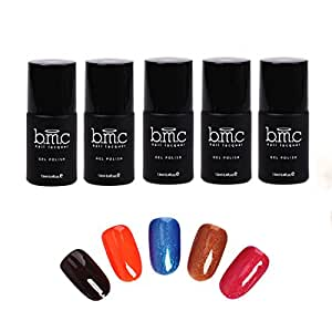 Buy BMC Thermal Effect Color Changing Nail Lacquer Gel Polish ...