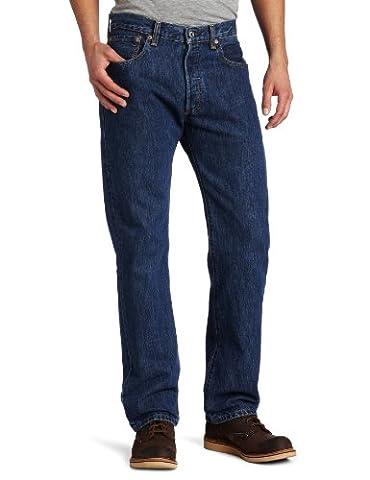Levi's Jeans 501 Straight Harrison Dunkelblau [W32/L30]